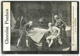 H2  CHROMO PHOTO 10,5 X 7 Cm Vers 1900 EXPLORATEUR LAPEROUSE ET LOUIS XVI  Consultent Des Cartes - Poulain