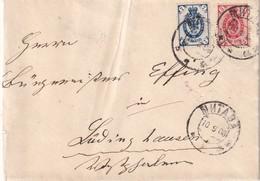 URSS 1908 LETTRE DE MITAWA - Briefe U. Dokumente