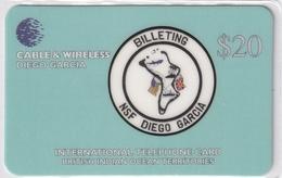 DIEGO GRCIA , DGA-R-71 , $20 BILLITING , MINT , CN  00005 - Diego-Garcia
