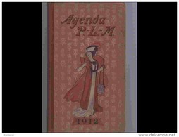 AGD1  AGENDA PLM  1912  .ITALIE  SUISSE  SPORTS  D ' HIVER...CAPPIELLO WILLETTE LEANDRE  + 167 Dessins - Calendari