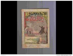 .AGD1   ALMANACH De L' éclair  ANNEE  1917  Calendrier 12 PLEINES PAGES   Militaria  200 P  PARFAIT ETAT VOIR PHOTOS - Calendari