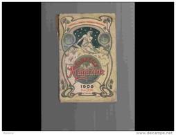 AGD1      204   ALMANACH  Du Syndicat Des Pharmacies  1909  Santé Sport Remédes  352 P. - Groot Formaat: 1901-20