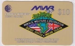 DIEGO GRCIA , DGA-R-72 , $10 US NAVY MWR MINT , CN  04454 - Diego-Garcia