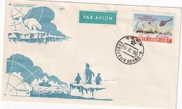 URSS 1959  LETTRE THEME EXPEDITION ARCTIQUE - Expéditions Arctiques
