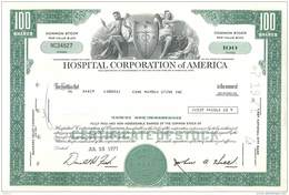 ACT1     USA ..HOSPITAL CORPORATION OF AMERICA  100$  FIRST NATIONAL CITY BANK NEW YORK  ETAT  DU NEUF - Azioni & Titoli