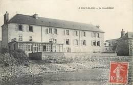 CPA 56 Morbihan Le Port Blanc Le Grand Hôtel - France