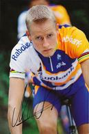 CARTE CYCLISME MICHAEL RASMUSSEN TEAM RABOBANK 2003 - Ciclismo