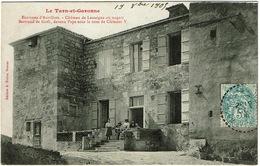 CPA Auvillars (environs) 82. Château De Lassaigne, 1909 ? - Auvillar