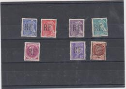 FRANCE LIBERATION MONTREUIL BELLAY 1944 - 7 T Neufs Xx Signés - Mayer 7 à 12 - 22 - Liberation