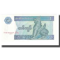 Billet, Myanmar, 1 Kyat, Undated (1986), KM:69, NEUF - Myanmar