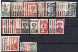 Gabon : Lot, Collection De 49 Timbres Différents Neufs ** Ou * - Cote 88€ - Gabon (1886-1936)