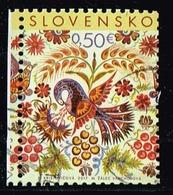 Slowakei 2017,Michel# 812 O Ostern: Folk Painting From Vajnory - Slovakia