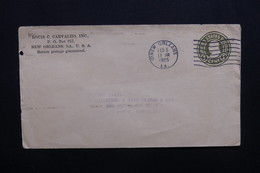 ETATS UNIS - Entier Postal Commercial De New Orléans Pour Le Portugal En 1925 - L 48891 - 1921-40