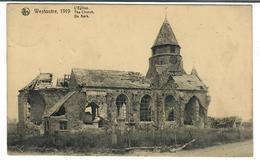 Westoutre  Westouter  Heuvelland  1919 L'Eglise The Church De Kerk - Heuvelland