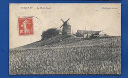 VERZENAY    Mont Boeuf Moulin Et Ferme     écrite En 1911 - Autres Communes