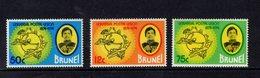 890540308 1974 SCOTT 217 218 219 POSTFRIS MINT NEVER HINGED EINWANDFREI (XX) - UNIVERSAL POSTAL UNION - UPU - Brunei (1984-...)
