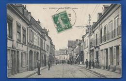 REIMS   Rue Dieu Lumière       Animées    écrite En 1913 - Reims