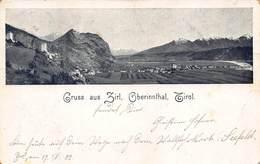 GRUSS Aus ZIRL OBERINNTHAL TIROL AUSTRIA~PANORAMA~1902 POSTCARD 42605 - Österreich