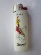 Briquet Bic Publicitaire - Je Skie à BOZEL - Briquets