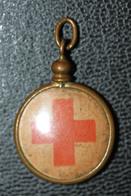 "WW1 - Curieux Pendentif ""Croix Rouge Française"" French Medal WWI - 1914-18"