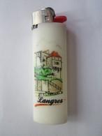 Briquet Bic Publicitaire - LANGRES (52 Haute-Marne) - Briquets