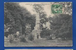 LUNEVILLE     Monument Aux Morts      Animées     écrite En 1913 - Luneville