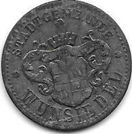 *notgeld Wunsiedel 10 Pfennig O.j. Zn  614.1 - Allemagne