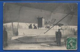 LUNEVILLE    Zeppelin  Une Des Nazelles    Animées     écrite En 1913 - Luneville
