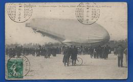 LUNEVILLE    Atterrissage D'un Zeppelin   Moment Critique Delestage  Animées     écrite En 1913 - Luneville