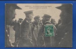LUNEVILLE    Atterrissage D'un Zeppelin  Officier Pilotes Allemands  écrite En 1913 - Luneville