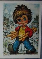 Petit Calendrier De Poche 2006 Illustration Michel Thomas Garçon Pain - Kalenders