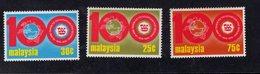 890559850 1974 SCOTT 120 121 122 POSTFRIS MINT NEVER HINGED EINWANDFREI (XX) - UNIVERSAL POSTAL UNION - UPU - Malaysia (1964-...)