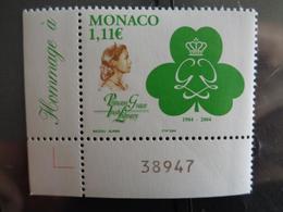 MONACO 2004  Y&T N° 2426 ** - 20e ANNIV. DE LA CREATION DE L'IRISH LIBRARY - Nuovi