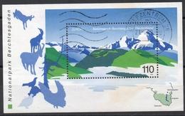 Allemagne Fédérale - Bloc-feuillet N° 46 Oblitéré - Parc National - [7] Repubblica Federale