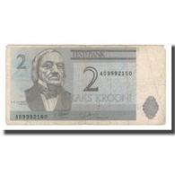 Billet, Estonia, 2 Krooni, 1992, KM:70a, TB - Estland