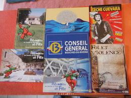 Lot 69 Cpm Neuves Du 13 Conseil General Des Bouches Du Rhone ..9 Photos.. - Postkaarten