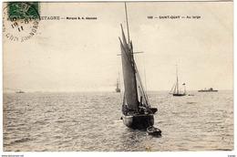 SAINT-QUAY  Au Large.  Carte écrite En 1911    2 Scans   TBE - Saint-Quay-Portrieux