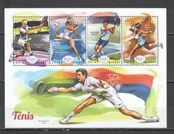 ST1105 2014 GUINE GUINEA-BISSAU SPORTS TENNIS 1KB MNH - Tennis
