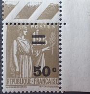 R1692/810 - 1934 - TYPE PAIX - N°298 NEUF** CdF - Neufs