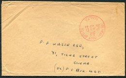 1961 Malta General Post Office Paid Cover - Sliema - Malta