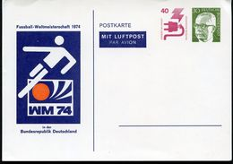 SOCCER WORLD CHAMPIONSHIPS 1974 Germany PP56 C1/001 Cat. 10,00 € - Fußball-Weltmeisterschaft