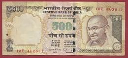 Inde 500 Rupees 2014 Dans L 'état (9) - India