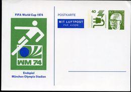 SOCCER WORLD CHAMPIONSHIPS 1974 Germany PP57 C2/001 Cat. 10,00 € - Fußball-Weltmeisterschaft