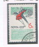 URSS -  SG  3091  - 1965 EUROPEAN FIGURE SKATING  CHAMPIONSHIP      - USED°  - RIF. CP - 1923-1991 USSR