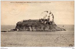 PORTRIEUX-LES-BAINS - L'Ile De La Comtesse  Carte écrite En 1918. Correspondance Militaire. 2 Scans - Saint-Quay-Portrieux
