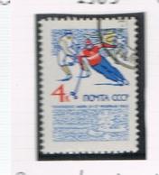 URSS -  SG  3092  - 1965 WORLD ICE  CHAMPIONSHIP      - USED°  - RIF. CP - 1923-1991 USSR
