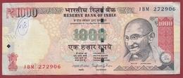 Inde 1000 Rupees 2014 Dans L 'état (18) - India