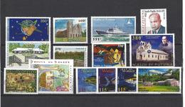 Wallis & Futuna: Année 2000 - 535/ 547 + PA 220 ** - Wallis-Et-Futuna