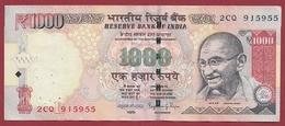 Inde 1000 Rupees 2015 Dans L 'état (19) - India