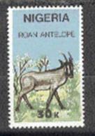 Nigeria Hors Serie Antilope  MNH. - Timbres